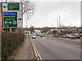 SP0583 : Junction on Bristol Road by David P Howard