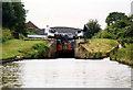 SJ6448 : Hack Green bottom lock Shropshire Union Canal by Jo Turner