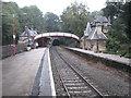 SK3057 : Cromford railway station, Derbyshire by Nigel Thompson
