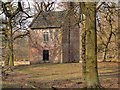 SJ7387 : Dunham Massey Slaughterhouse by David Dixon