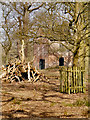 SJ7387 : The Slaughterhouse at Dunham Massey Park by David Dixon