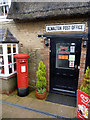 TL1395 : Alwalton Post Office postbox PE7 220 by Alan Murray-Rust