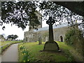 SX6742 : War Memorial and All Saints Church, Thurlestone by Ruth Sharville