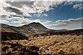 NR3873 : Looking across moorland to Giùr-bheinn, Islay by Becky Williamson