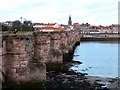 NT9952 : The Old Bridge at Berwick by Oliver Dixon