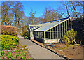 NG2448 : New glasshouse in the Walled Garden by John Allan