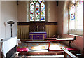 TL7066 : St Mary, Kentford - Sanctuary by John Salmon