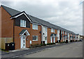 SO9197 : New houses in Blakenhall Gardens, Wolverhampton by Roger  Kidd