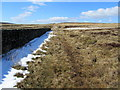 SD9838 : Footpath on Oakworth Moor by Chris Heaton