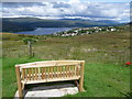 NN0972 : Fort William: a bench with a view by Chris Downer