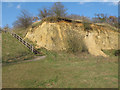 TQ5978 : Mill Wood Sand Cliff by Roger Jones