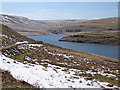 SN8968 : Southern end of Craig Goch reservoir by Rudi Winter