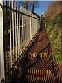 SX9265 : Coast path by cliff railway by Derek Harper