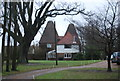 TQ6742 : Brenchley Manor Oast by N Chadwick