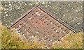 J4682 : Partly-hidden access cover, Helen's Bay (1) by Albert Bridge