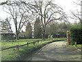 SU7586 : Benhams Lane passes Fawley Green by Stuart Logan