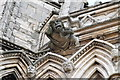 SK9771 : West Front Carvings, Lincoln Cathedral by J.Hannan-Briggs