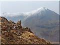 NG5032 : Rocky outcrop on Ben Lee by John Allan