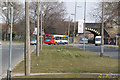 SJ3793 : Utting Avenue at Bootle branch railway bridge by Alan Murray-Rust
