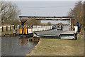 SJ3898 : Narrow boat passing Handcock's Bridge by Alan Murray-Rust