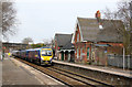 SJ6992 : Glazebrook Station by Alan Murray-Rust