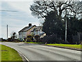 TQ4996 : Cottages on Stapleford Road by Robin Webster