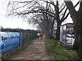 TQ2276 : Cyclepath beside Rocks Lane by David Anstiss