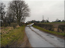 SJ7283 : Hulsheath Lane by David Dixon