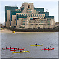 TQ3078 : MI6 Headquarters by David P Howard
