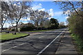 TL4461 : Histon Road at the junction with Blackhall Road by Rob Noble