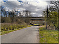SJ7285 : Reddy Lane Motorway Bridge by David Dixon