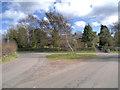 SJ7184 : Rural Road Junction by David Dixon