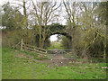 SP0662 : Bridge on the dismantled Ashchurch-Barnt Green railway line  by Robin Stott