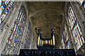 TL4458 : King's College Chapel - fan vault ceiling by TheTurfBurner