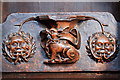 SO5174 : St Laurence's church, Ludlow - misericord (2) by Mike Searle