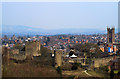 SO5074 : Ludlow - the town from the Whitcliffe viewpoint by Mike Searle