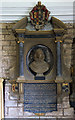 SO5174 : St Giles church, Ludford - monument to Dorothy Charlton by Mike Searle