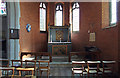 TQ2470 : St Andrew, Herbert Road - South chapel by John Salmon