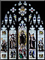 TQ2470 : St Andrew, Herbert Road - Stained glass window by John Salmon