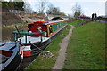 SP0374 : Narrowboats at Hopwood by Philip Halling