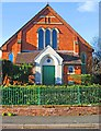 SO8171 : Stourport Baptist Church (2) - Prospect Road entrance, Stourport-on-Severn by P L Chadwick