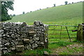 SK1860 : Stile in Long Dale by Graham Horn