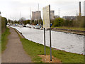 SJ5686 : Trans Pennine Trail and Sankey Canal at Fiddler's Ferry by David Dixon
