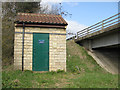 SE8173 : Malton (A64) Flow Gauging Station by Pauline E