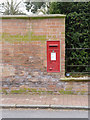 SK7054 : Normanton/Southwell postbox, NG25 94 by Alan Murray-Rust