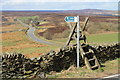 SK2594 : Stile on TDF route by Dave Pickersgill