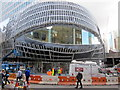 SP0686 : New Street Station, New Entrance Nearly Ready by Roy Hughes