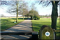 TQ0486 : Entrance to Buckinghamshire golf club by Graham Horn