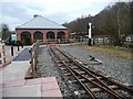SJ8248 : The end of the line, Apedale Valley Light Railway by Christine Johnstone