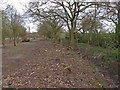 TL9015 : Boundary of Tiptree Parish Field and Park Lane by Roger Jones